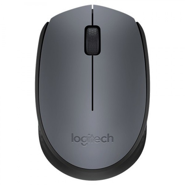 Mouse Wireless Logitech M170 USB Black/Grey