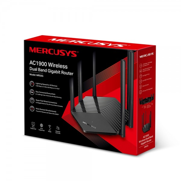 Ruter Mercusys MR50G AC1900 600 Mbps