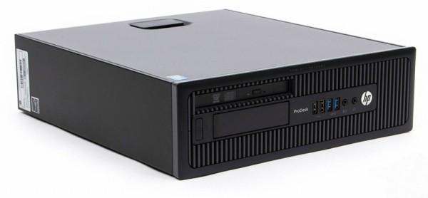 HP ProDesk 600 G1 SFF i5-4570/8GB/256GB-SSD/DVD/Win10 Pro Refurbished