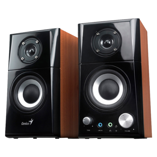 Zvucnici 2.0 Genius SP-HF500A II Wood