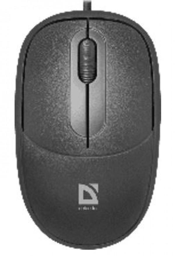 Miš Defender Datum MS-980 žični USB, crni