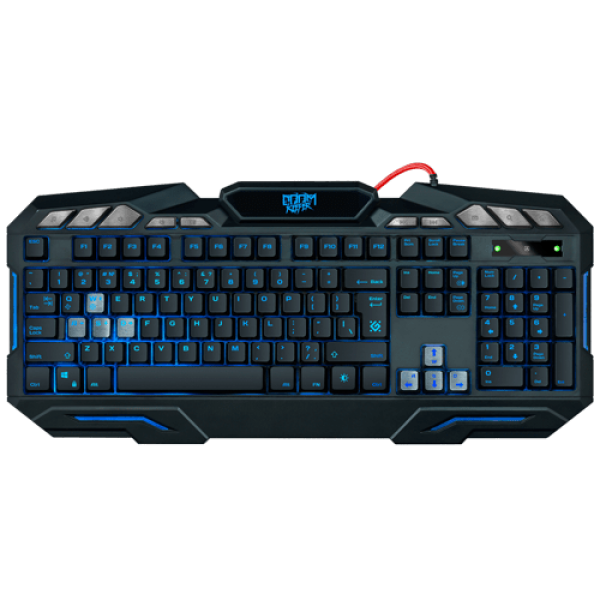 Tastatura Defender Doom Keeper GK-100DL US USB, žična, gejmerska