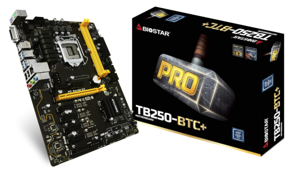 MB s1151 BIOSTAR TB250-BTC+