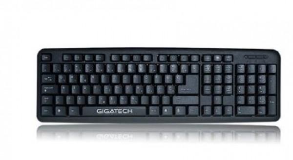 Tastatura USB Gigatech GT-410E Black