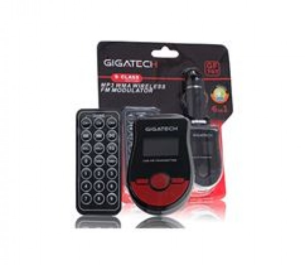FM transmiter Gigatech GF-707M crno/crveni