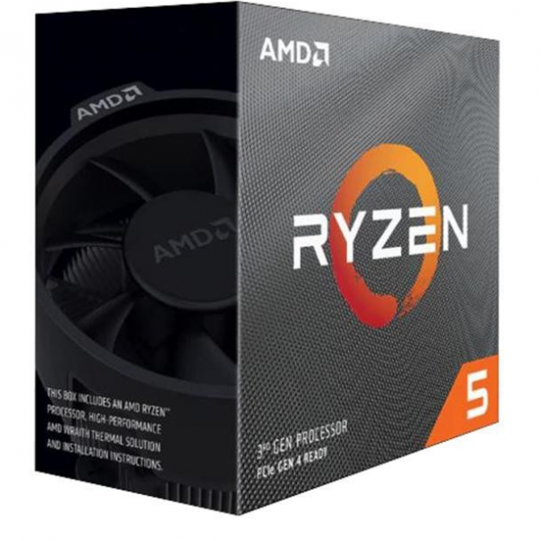 CPU AMD AM4 Ryzen 5 3500X 6 cores 3.6GHz (4.1GHz) Box