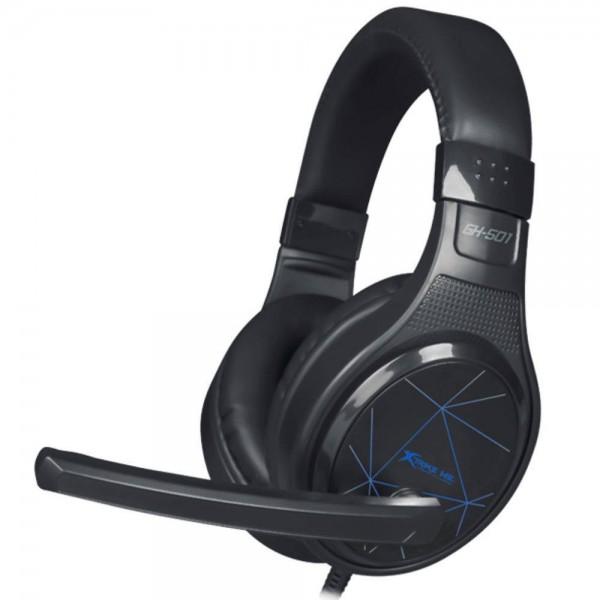 Slušalice sa mikrofonom xTrike GH-501 Black