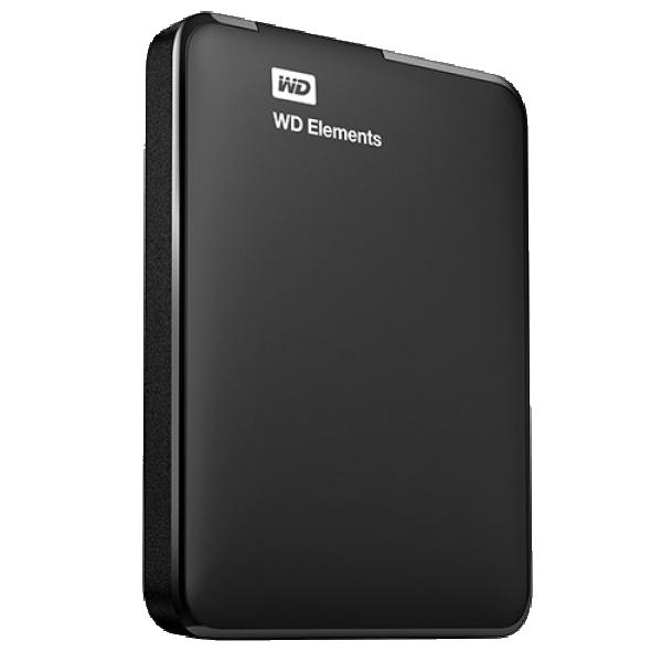 HDD External 2.5'' 2TB WD WDBU6Y0020BBK-WESN, 8MB USB 3.0