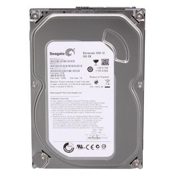 HDD Seagate 500GB 16M Barracuda ST3500418AS SATA3