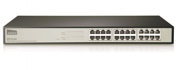 LAN Switch Netis 24port ST3124 10/100Mbps
