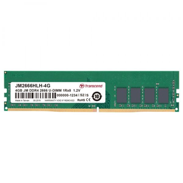 MEM DDR4 4GB Transcend 2666MHz JM2666HLH-4G