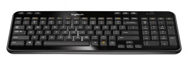 Tastatura USB Wireless Logitech K360 Black US