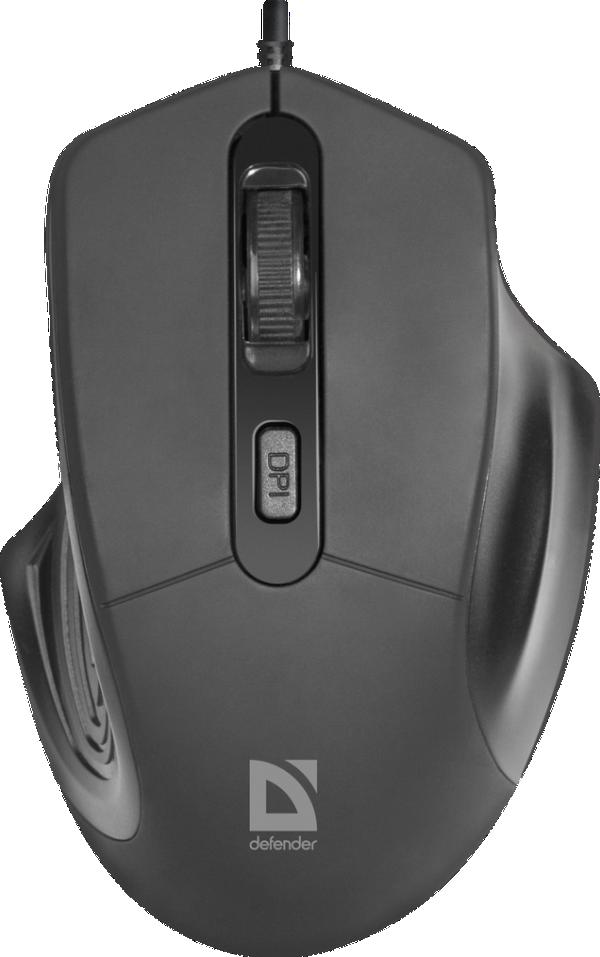 Miš Defender MB-347 žični USB, crni