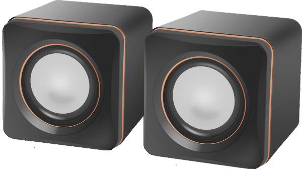 Zvučnici Defender SPK-33,USB 2.0, 5W, sivi