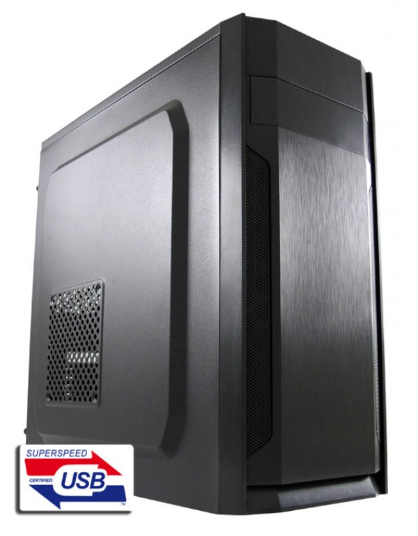 TOWER LC Power LC-7036B 2xUSB2.0 1xUSB3.0 w/o psu