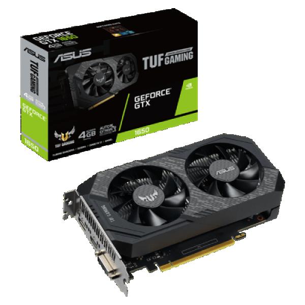 SVGA PCIE ASUS TUF-GTX1650-4GD6-G 128bit