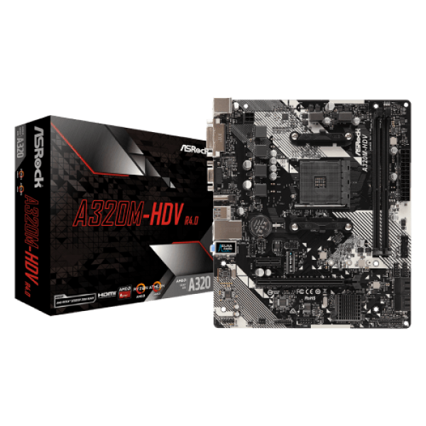 MB AM4 ASRock A320M-HDV R4.0