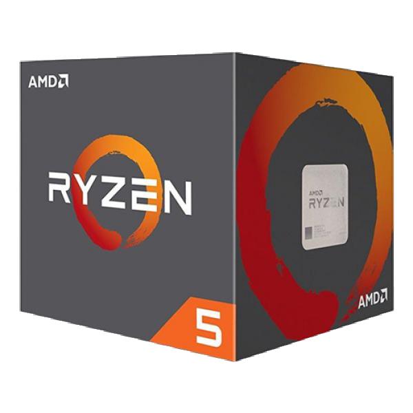 CPU AM4 AMD Ryzen 5 1600 6C/12T Wraith 95W Cooler set