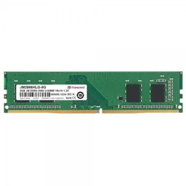 MEM DDR4 TRANSCEND 8GB 2666MHz JM2666HLG-8G