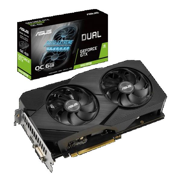 SVGA PCIE ASUS DUAL-GTX1660S-O6-MINI 192bit