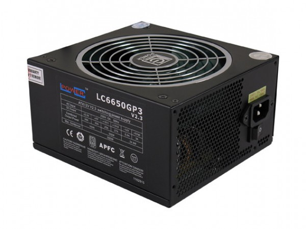 Napajanje 650W LC Power LC6650GP3 v2.3 80 PLUS Silver