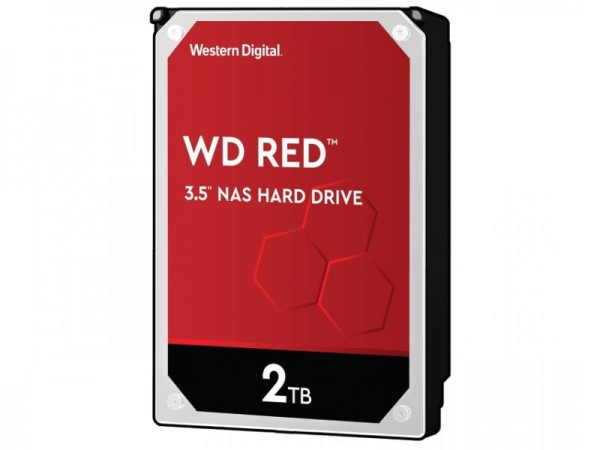 HDD WD 2TB WD20EFZX 5400 256MB RED Plus