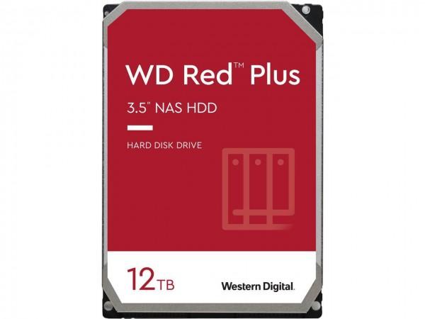 HDD WD 12TB WD120EFBX RED PLUS 7200RPM 256MB