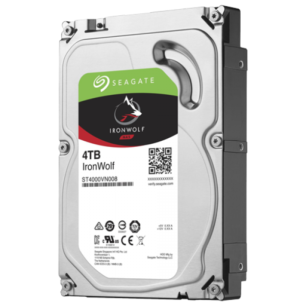 HDD WD 4TB Seagate IronWolf ST4000VN008 5900RPM 64MB NAS