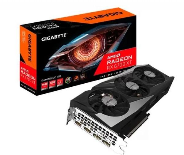 SVGA GIGABYTE GV-R67XTGAM OC-12GD RX 6700 XT 12GB