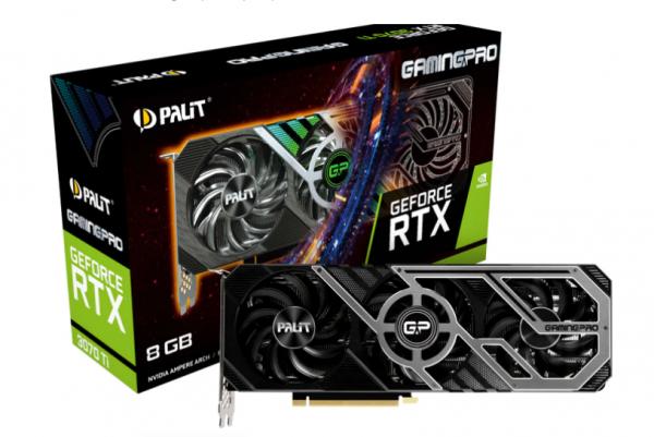 SVGA PALIT RTX 3070 Ti 8GB GamingPro NED307T019P2-1046A