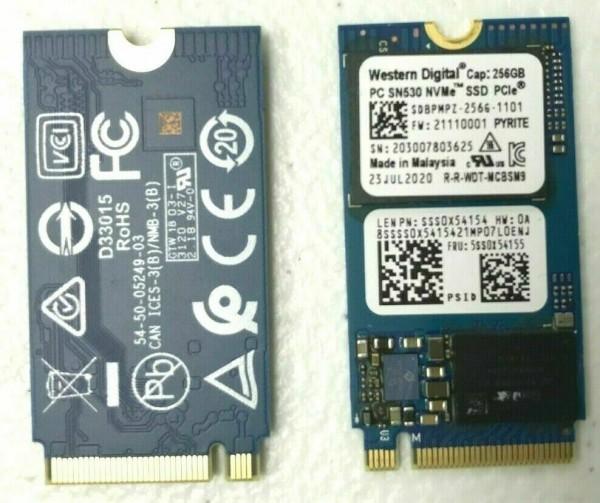 SSD WD 256GB M.2 2242 SDBPMPZ