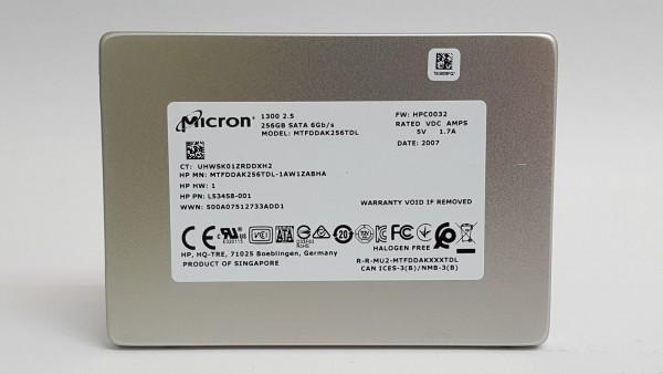 SSD MICRON 2.5'' 256GB MTFDDAK256TDL-1AW1ZABHA Ref. Bulk