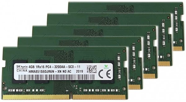 RAM SODIMM DDR4 SK Hynix 4GB 3200MHz HMA851S6DJR6N-XN Bulk