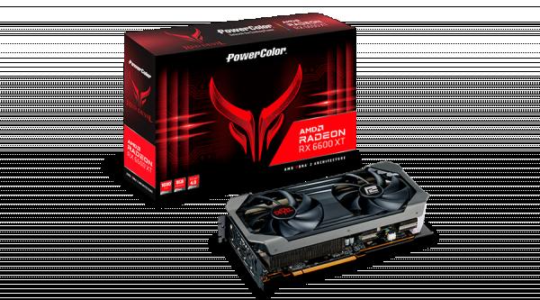 SVGA PCIE PowerColor Red Devil 6600 XT 8GB AXRX-6600XT-8GBD6-3DHE/OC
