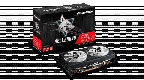 SVGA PCIE PowerColor Hellhound 6600 XT 8GB AXRX-6600XT-8GBD6-3DHL/OC
