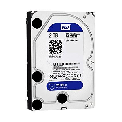 HDD WD 2TB WD20EZRZ SATA3 64MB Blue