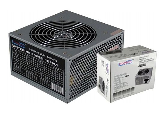 Napajanje 600W LC Power LC600H-12 v2.31 12cm Fan