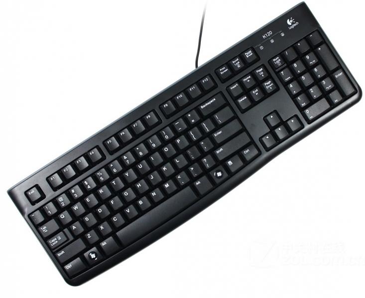 Tastatura USB Logitech K120 Retail US Black