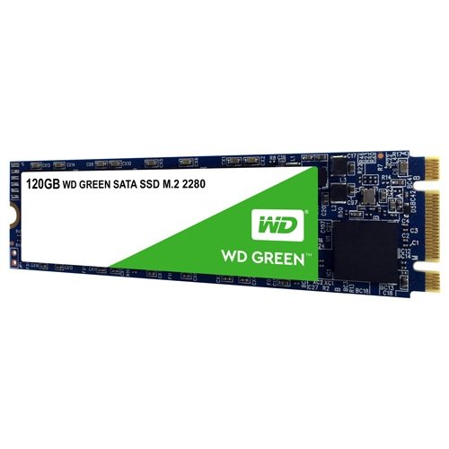 HDD SSD WD M.2 120GB WDS120G2G0B Green