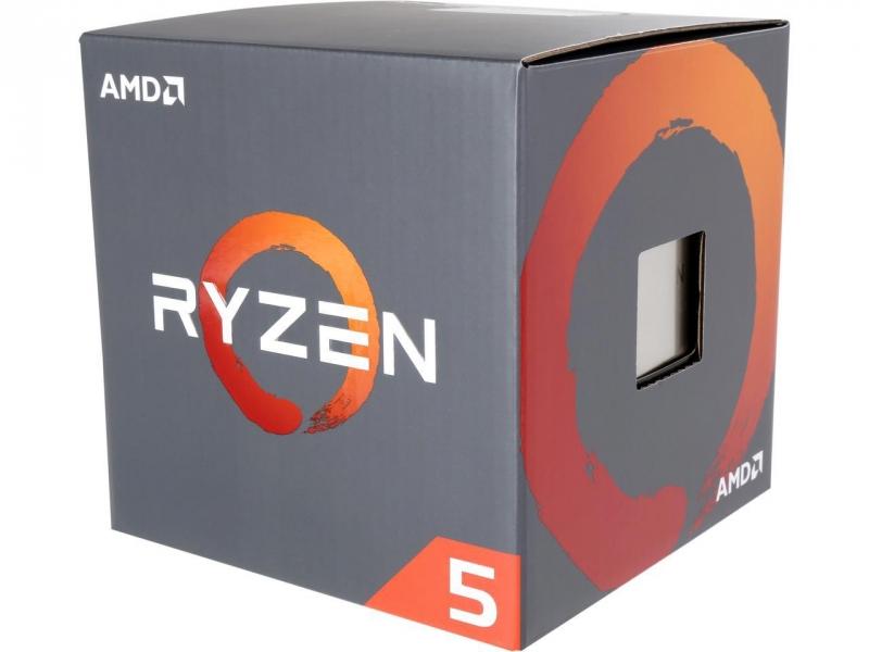 CPU AM4 AMD Ryzen 5 1600 6C/12T Wraith 95W Cooler