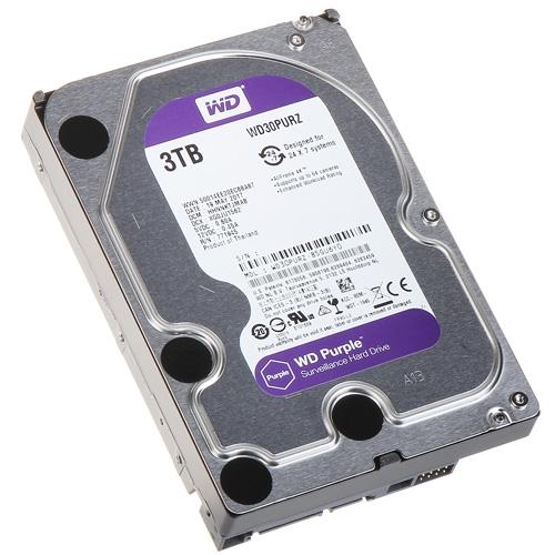 HDD WD 3TB WD30PURZ SATA3 64MB Caviar Purple