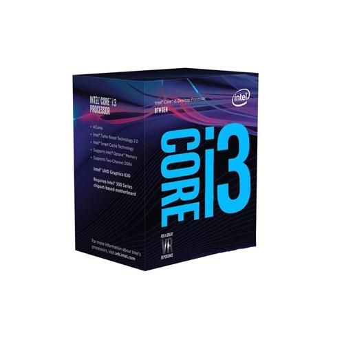 CPU 1151 INTEL Core i3-8100 3.60GHz Box