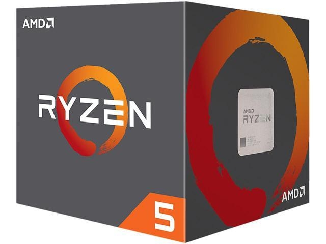 CPU AM4 AMD Ryzen 5 2600 6core 3.2GHZ 65W Box