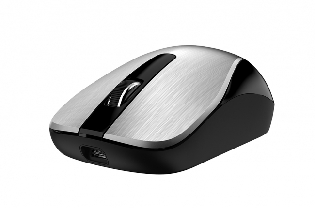 Mouse Wireless Genius  ECO-8015 RechargeableSilver
