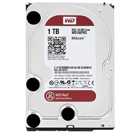 HDD WD 1TB WD10EFRX SATA3 64MB Caviar Red