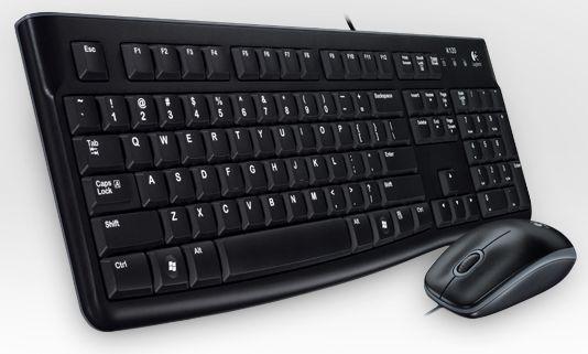 Tast+Mis USB Logitech Desktop MK120 US