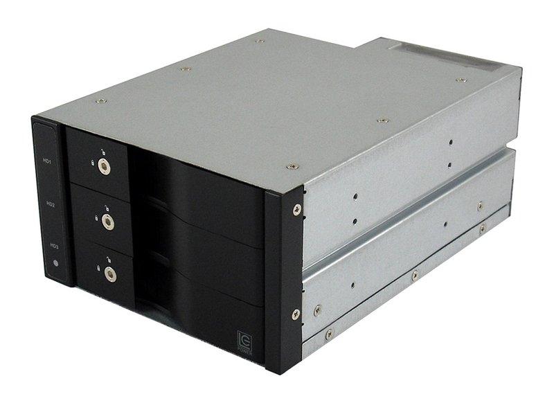 Adapter LC Power LC-ADA-525-3x35-SWAP Hot Swap