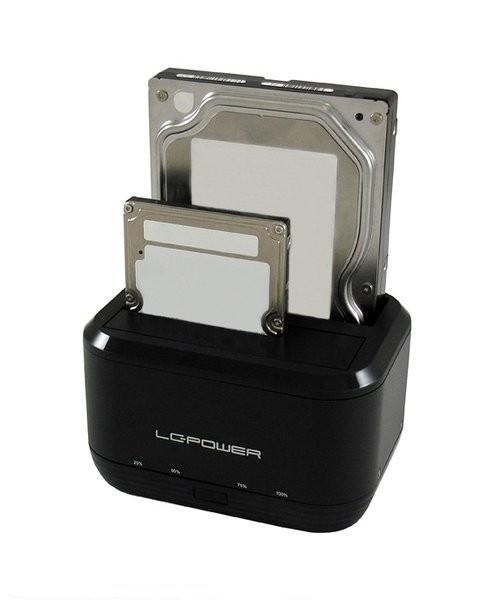 HDD D.Station LC Power LC-DOCK-U3-III 2xSSD USB3