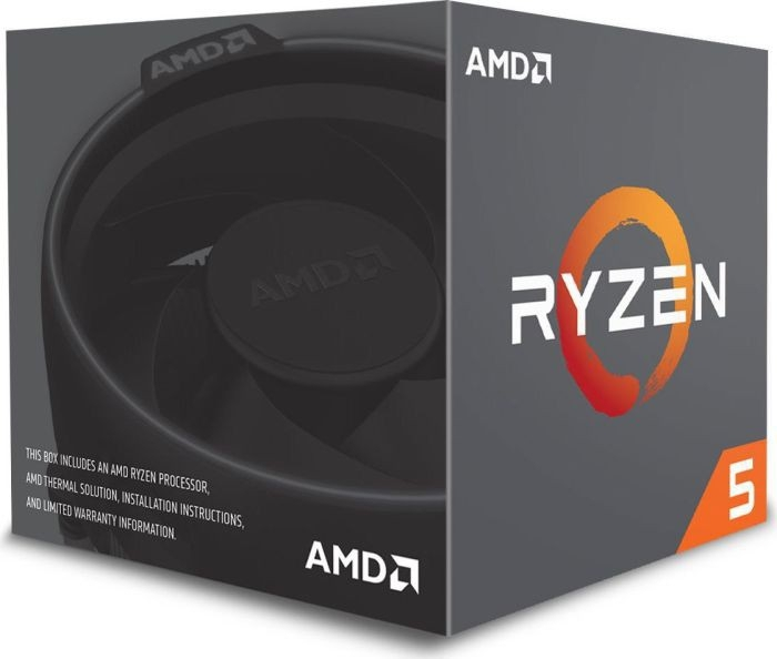 CPU AM4 AMD Ryzen 5 6C/12T 2600 3.9GHz