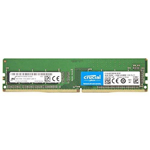 RAM DDR4 Crucial 4GB 2400MHz CT4G4DFS824A